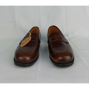 Tods brown leather handmade oxford loafers
